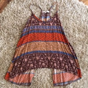 Lg tank top with open back